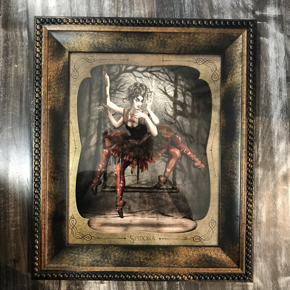 { Spidora } Ransom & Mitchell Photo Art Print Framed 8