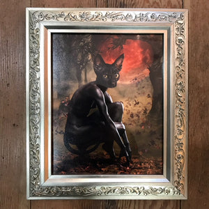 "{ La Chat Noir  } Ransom & Mitchell Photo Art Print Framed 8"" X 10"""