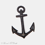 Cast Iron Small Black Anchor