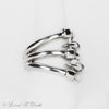 Sterling Silver Double Claw Ring