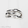 Sterling Silver Single Claw Ring
