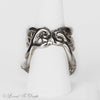 Sterling Silver Large Octopus Ring