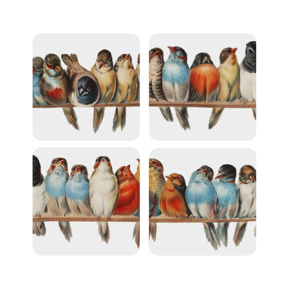 Sweet Birds Coaster Set