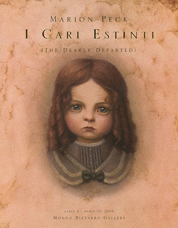 "OUT OF PRINT ""I Cari Estinti"" Dearly Departed Marion Peck Italian Import"