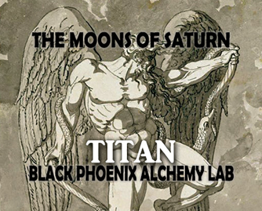 Moons of Saturn Titan Black Phoenix Alchemy Lab Fragrance