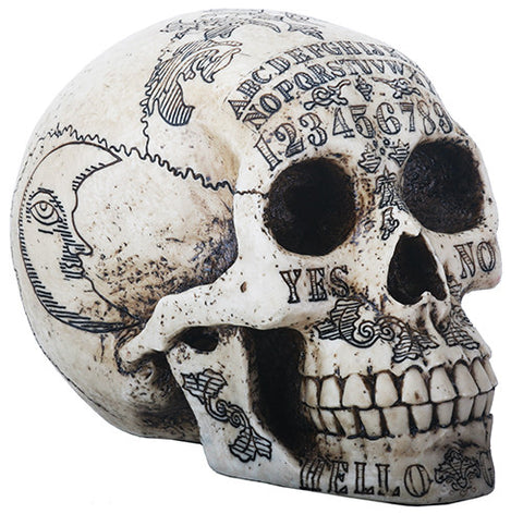 Ouija Carved Skull