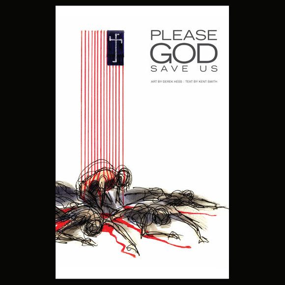 Please God Save Us Derek Hess Book