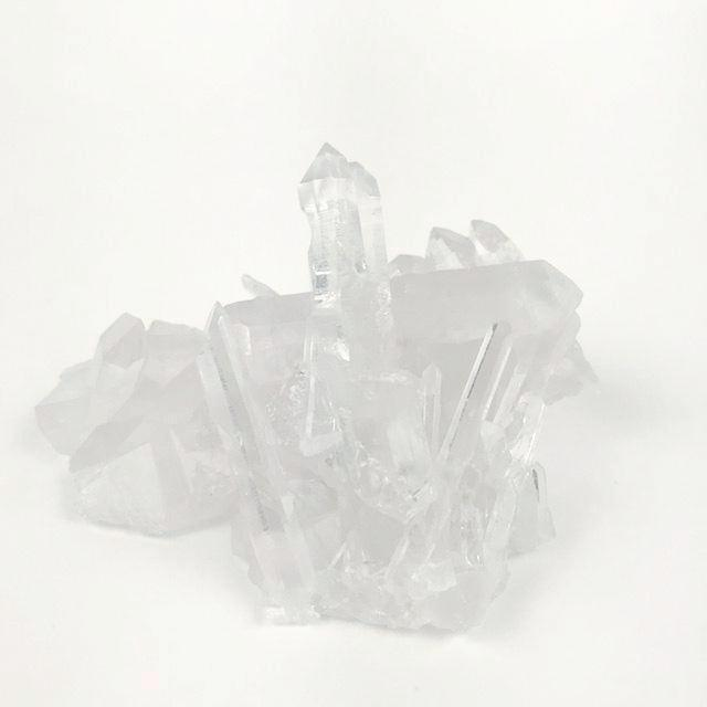 Clear Quartz Crystal Points Specimen 6""