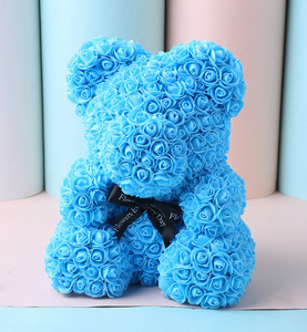 Luxury Deep Sky Blue Bear