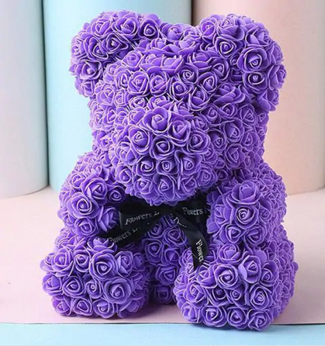 Luxury Purple Bear