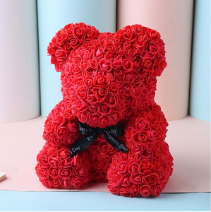 Luxury Rosey Red Bear