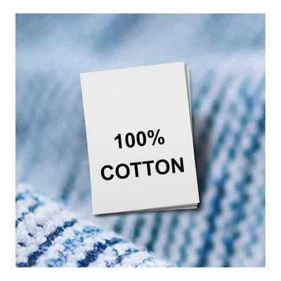 fabric labels cotton
