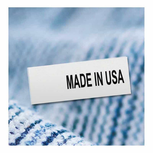 clothing origin labels - made in USA