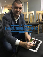 Dominic Matteo San Siro private signing signed photo autograph