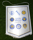 David Harvey Hand Signed Leeds United Pennant Autograph