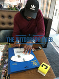 Lucas Radebe Hand Signed Leeds United Centenary Metal Kit Autograph