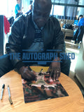 Large Tony Yeboah Celebration hand signed autographed photo Leeds United