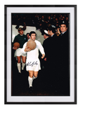 Johnny Giles hand signed autographed photo Leeds United