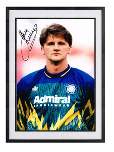 John Lukic hand signed autographed photo Leeds United 1992 1993