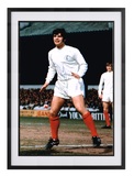 Mick Bates hand signed autographed photo Leeds United