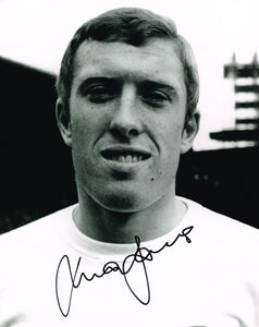 Mick Jones hand signed autographed photo Leeds United