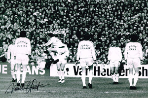 Norman Hunter hand signed autographed photo Leeds United