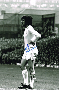 Peter Lorimer hand signed autographed photo Leeds United