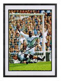 Tony Yeboah Wimbledon Goal hand signed autographed photo Leeds United