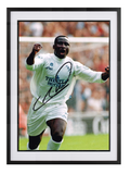 Tony Yeboah hand signed autographed photo Leeds United