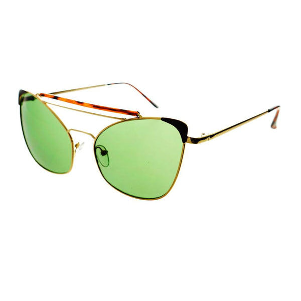 Large Unique Metal Frame Fashion Designer Cat Eye Sunglasses C1380 - FREYRS - Beautifully designed, cheap sunglasses for men & women  - 4
