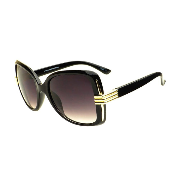 Large Oversized Womens Fashion Square Sunglasses O64 - FREYRS - Beautifully designed, cheap sunglasses for men & women  - 4