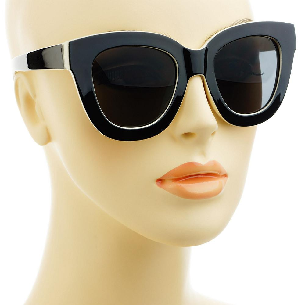Large Hip Fashion  Womens Cat Eye Sunglasses C1750 - FREYRS - Beautifully designed, cheap sunglasses for men & women  - 7