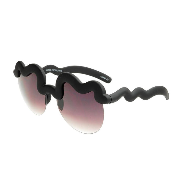 Unique Cool Fashion Party Womens Soft Finish Sunglasses W2200 - FREYRS - Beautifully designed, cheap sunglasses for men & women  - 5