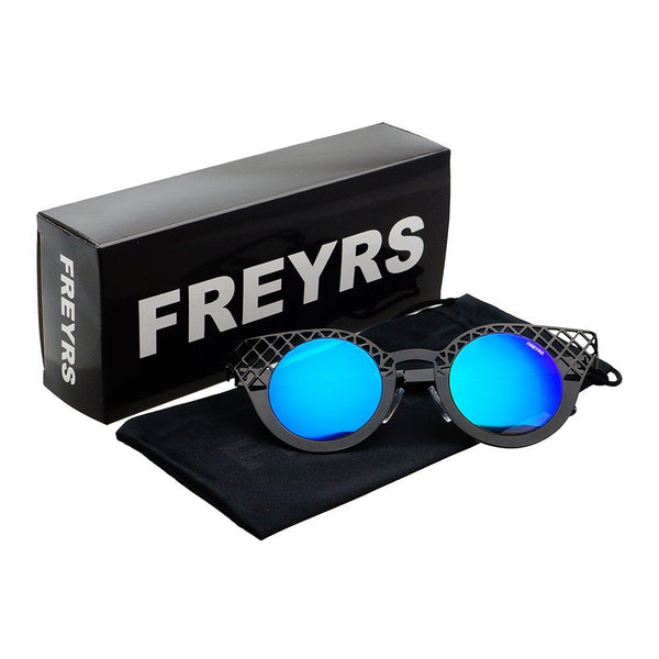 Evelyn Round Cat Eye Sunglasses - FREYRS - Beautifully designed, cheap sunglasses for men & women  - 6