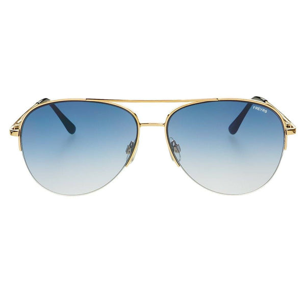 Rio Flat Lens Aviator Sunglasses - FREYRS - Beautifully designed, cheap sunglasses for men & women  - 3