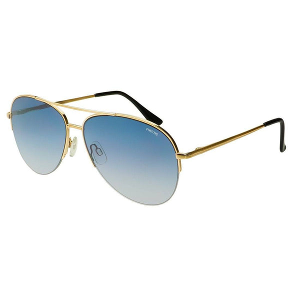 Rio Flat Lens Aviator Sunglasses - FREYRS - Beautifully designed, cheap sunglasses for men & women  - 4