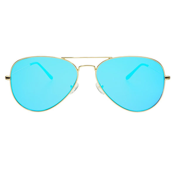 Mango Large Aviator Sunglasses - FREYRS - Beautifully designed, cheap sunglasses for men & women  - 1