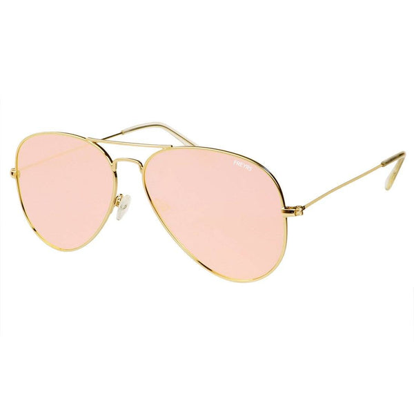 Mango Large Aviator Sunglasses - FREYRS - Beautifully designed, cheap sunglasses for men & women  - 5