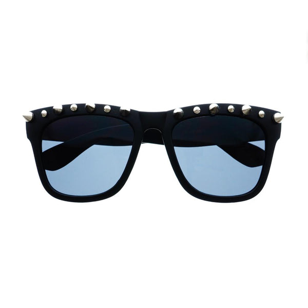 Gothic Style Metal Spikes Cool Punk Large Square Sunglasses W57 - FREYRS - Beautifully designed, cheap sunglasses for men & women  - 5