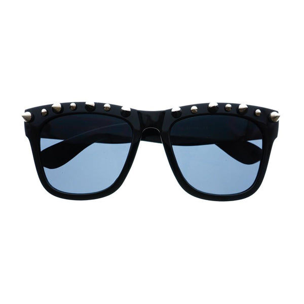Gothic Style Metal Spikes Cool Punk Large Square Sunglasses W57 - FREYRS - Beautifully designed, cheap sunglasses for men & women  - 6