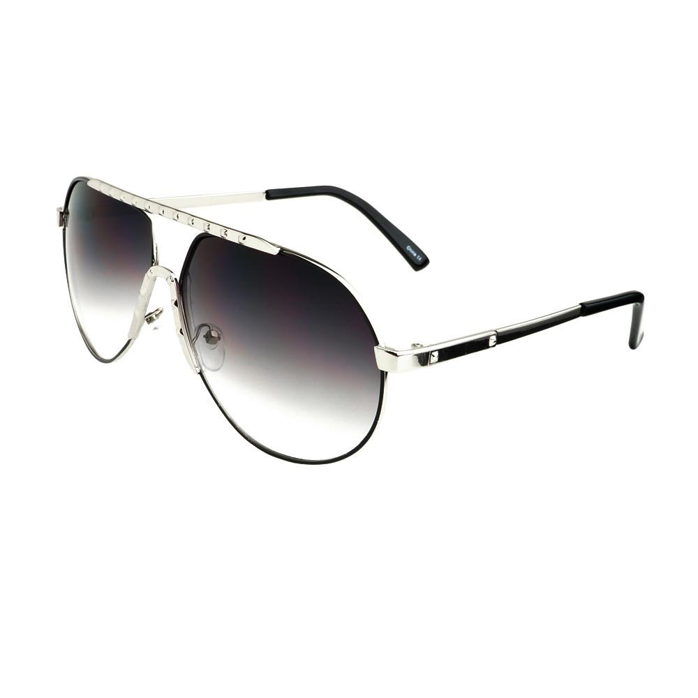 Unique Metal Celebrity Designer Fashion Large Aviator Sunglasses A1440 - FREYRS - Beautifully designed, cheap sunglasses for men & women  - 3
