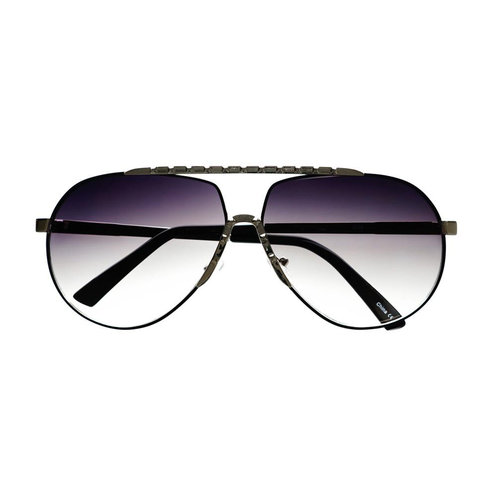 Unique Metal Celebrity Designer Fashion Large Aviator Sunglasses A1440 - FREYRS - Beautifully designed, cheap sunglasses for men & women  - 1