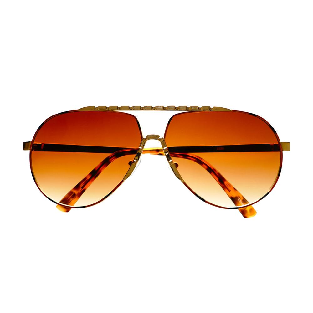 Unique Metal Celebrity Designer Fashion Large Aviator Sunglasses A1440 - FREYRS - Beautifully designed, cheap sunglasses for men & women  - 2