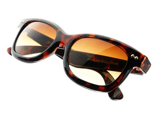 Stylish Sleek Rectangular Sunglasses Tortoise T242 - FREYRS - Beautifully designed, cheap sunglasses for men & women  - 2