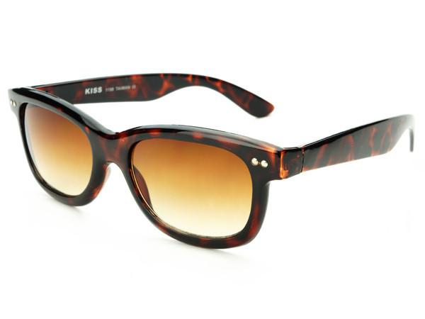 Stylish Sleek Rectangular Sunglasses Tortoise T242 - FREYRS - Beautifully designed, cheap sunglasses for men & women  - 3