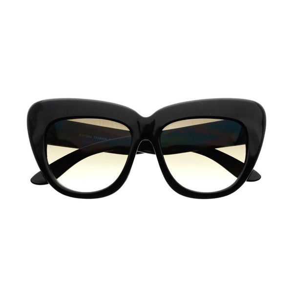 Stylish Large Oversized Designer Cat Eye Sunglasses Shades C21 - FREYRS - Beautifully designed, cheap sunglasses for men & women  - 2