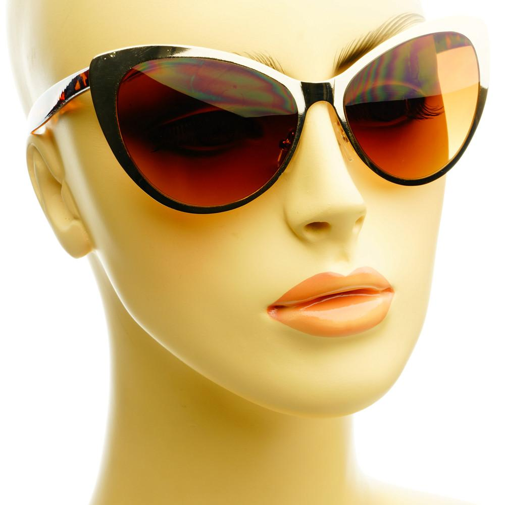 Celebrity Fashion Designer Womens Metal Cat Eye Sunglasses C1030 - FREYRS - Beautifully designed, cheap sunglasses for men & women  - 6