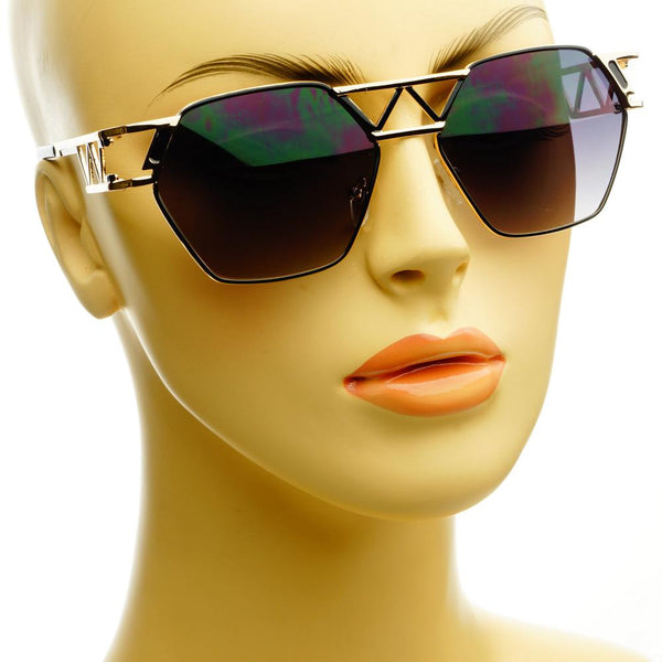 Unique Designer Celebrity Fashion Metal Sunglasses Shades A1340 - FREYRS - Beautifully designed, cheap sunglasses for men & women  - 7