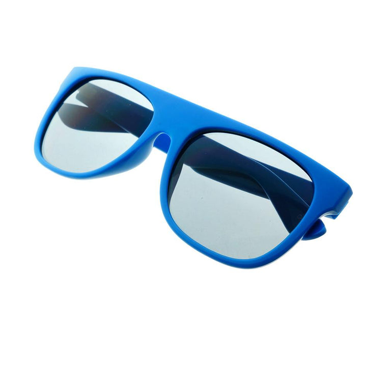 400dfe93125 Super Party Style Stripy Arms Flat Top Sunglasses Shades FT38 - FREYRS - Beautifully  designed