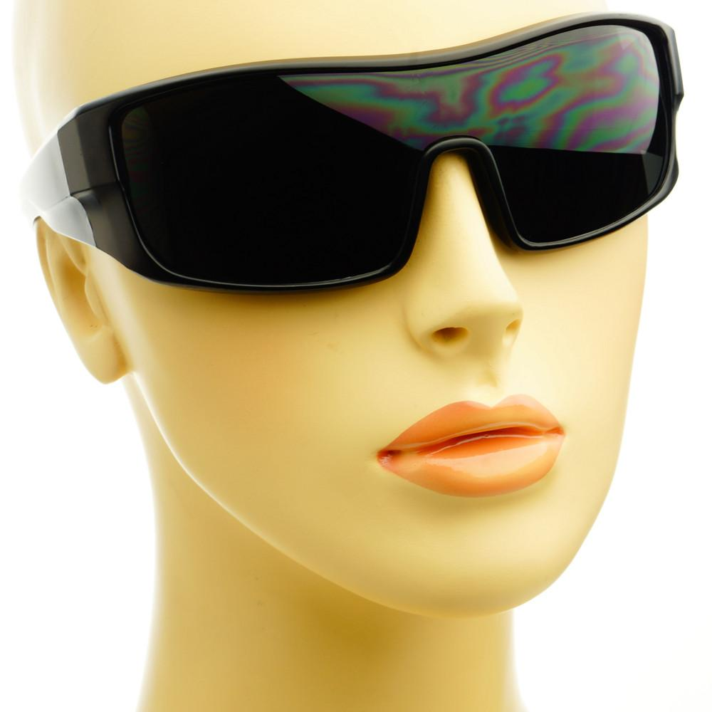 Sporty Fashion Shield Biker Mens Sunglasses Shades S02 - FREYRS - Beautifully designed, cheap sunglasses for men & women  - 6